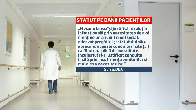 Medicul Iancu Mocanu, acuzat ca a ignorat un pacient pana n-a primit 2.500 de euro, vrea sa opereze