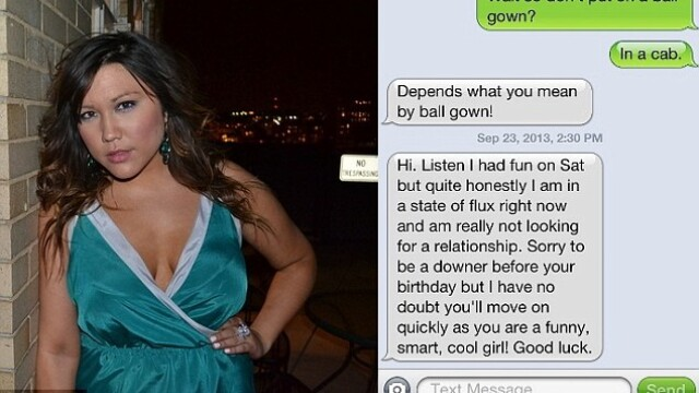 O bloggerita s-a razbunat public pe iubitul care s-a despartit de ea prin SMS dupa doua intalniri