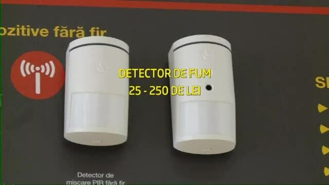 detectoare de fum