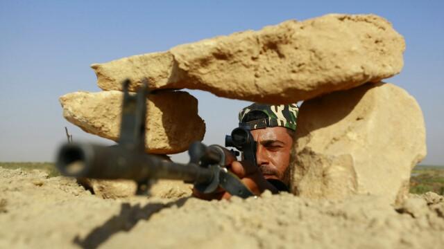 Statul Islamic, bombardat de armata irakiana. Oficialii de la Bagdad au anuntat uciderea mainii drepte a liderului gruparii