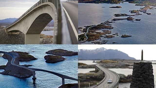 Traseul spectaculos de pe malul oceanului: Drumul Atlanticului, o constructie care iti taie rasuflarea, cu privelisti de vis