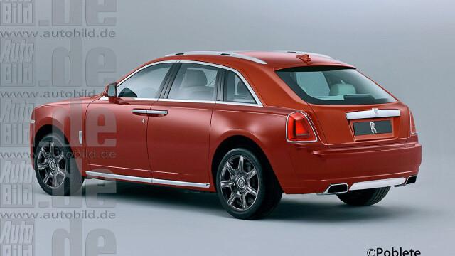 Rolls Royce lanseaza SUV. Primele imagini cu