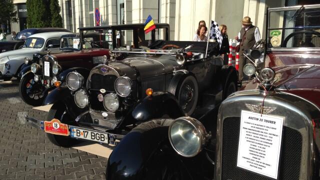 Tomitans' Clasic Cars Constanta. Raliul masinilor de epoca, vechi de 95 de ani. GALERIE FOTO - Imaginea 5