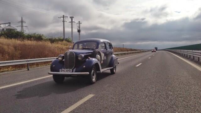 Tomitans' Clasic Cars Constanta. Raliul masinilor de epoca, vechi de 95 de ani. GALERIE FOTO - Imaginea 36