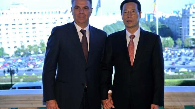 Valeriu Zgonea si Zhang Gaoli