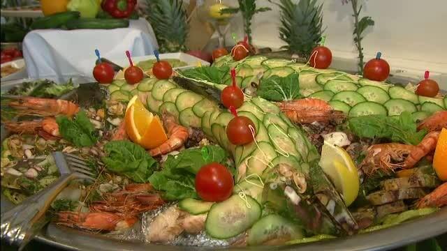 Zeci de platouri cu homari, creveti sau icre de manciuria. Sarbatoarea bucatariei frantuzesti, marcata cu fast la Bucuresti