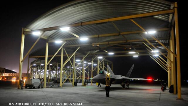Noile avioane invizibile ale SUA au fost folosite in lupta. PRIMELE imagini cu armele americane de 150 mil. dolari/bucata - Imaginea 4