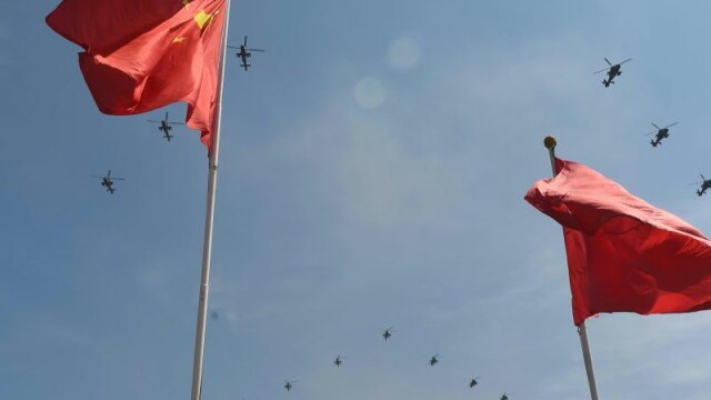 Parada militara in China, marcand 70 de ani de la capitularea Japoniei. Beijingul a prezentat