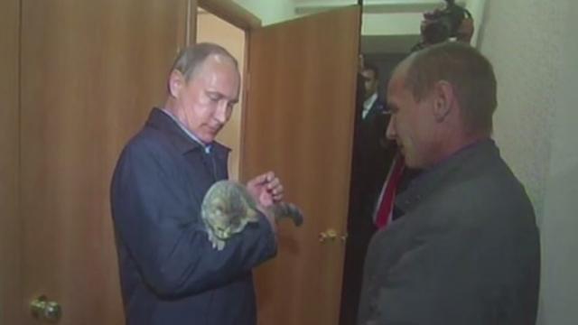 Cadoul inedit primit de Vladimir Putin in timpul unei vizite \
