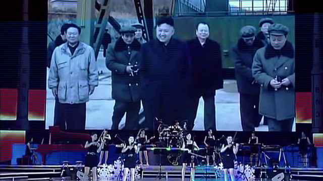 trupa fete Coreea de Nord