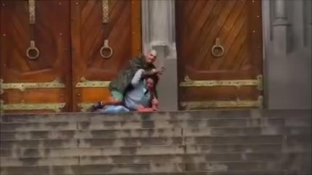 Un barbat fara adapost a devenit erou national dupa ce a fost impuscat salvand o femeie. Galerie foto si VIDEO - Imaginea 2
