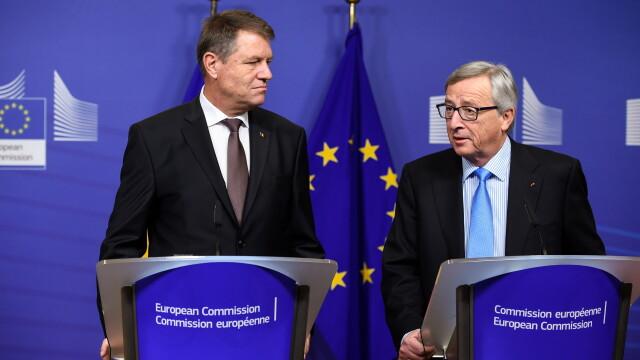 Klaus Iohannis, Jean-Claude Juncker - AGERPRES