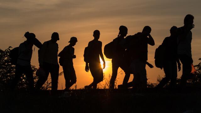 Lupta pentru supravietuire a imigrantilor, in IMAGINI: Europa, intre reticenta si compasiune - Imaginea 17