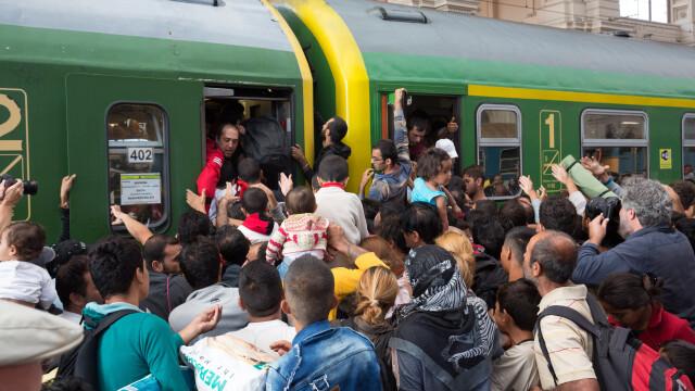 Lupta pentru supravietuire a imigrantilor, in IMAGINI: Europa, intre reticenta si compasiune - Imaginea 15