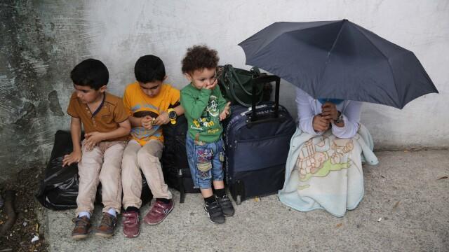 Lupta pentru supravietuire a imigrantilor, in IMAGINI: Europa, intre reticenta si compasiune - Imaginea 9