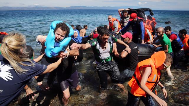 Lupta pentru supravietuire a imigrantilor, in IMAGINI: Europa, intre reticenta si compasiune - Imaginea 7