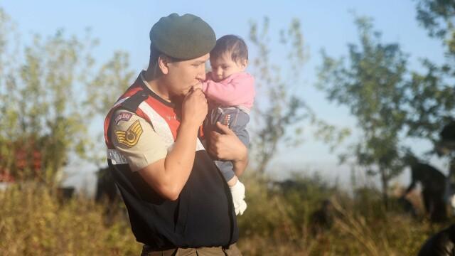 Lupta pentru supravietuire a imigrantilor, in IMAGINI: Europa, intre reticenta si compasiune - Imaginea 3