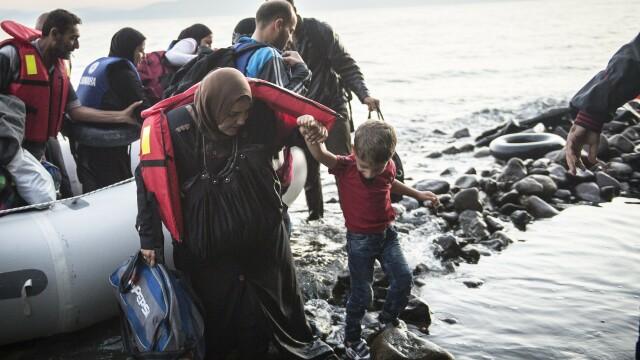 Lupta pentru supravietuire a imigrantilor, in IMAGINI: Europa, intre reticenta si compasiune - Imaginea 1