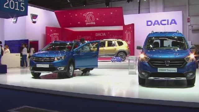 Dacia si-a prezentat noul Duster, editia 2016, la salonul auto de la Frankfurt. Modelul va ajunge si in Romania