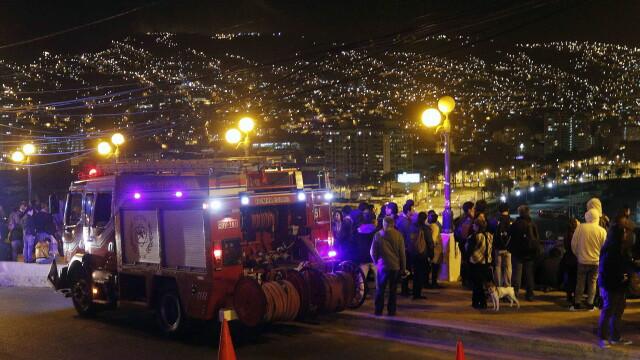 10 morti si 1 milion de oameni evacuati in urma cutremurului de 8,3 din Chile. Seismul a provocat valuri de 4,5 metri. VIDEO - Imaginea 4