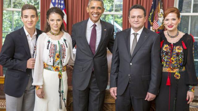 George Maior si Barack Obama