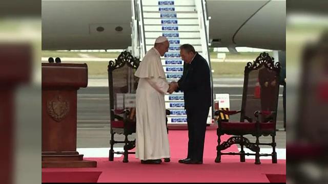 Papa Francisc, vizita istorica la Havana. Suveranul Pontif incurajeaza SUA si Cuba sa mentina dialogul si reconcilierea