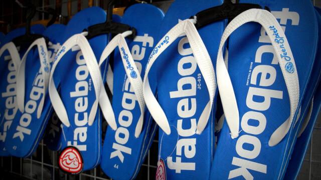 papuci Facebook