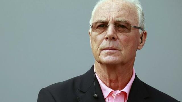 Franz Beckenbauer, fosta legenda a fotbalului german, acuzat de coruptie. Cazul are legatura cu organizarea CM 2006