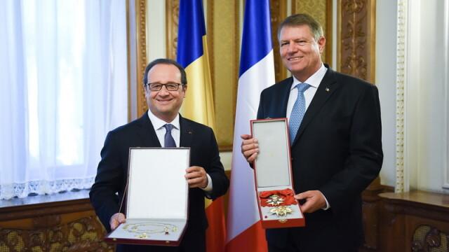 Francois Hollande, Klaus Iohannis
