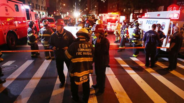 Teroare in Manhattan. Zeci de raniti in urma unei explozii, sambata noapte