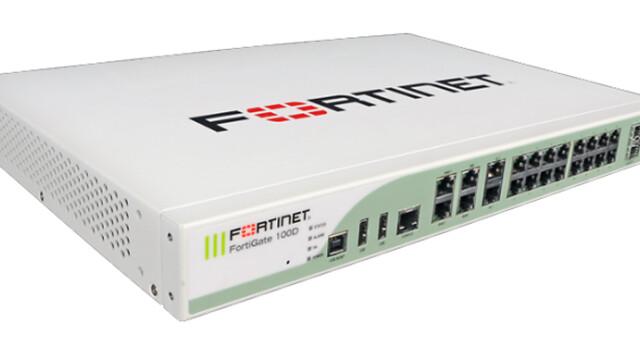 firewall fortinet 100d