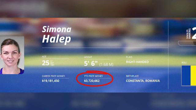 Simona Halep, câștiguri