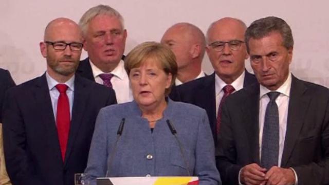 Alegeri în Germania. Victorie amară pentru Angela Merkel, extremiștii devin a treia forță politică
