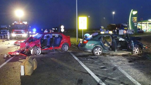 Doi români au murit, iar trei au fost răniţi în urma unui accident rutier în Ungaria