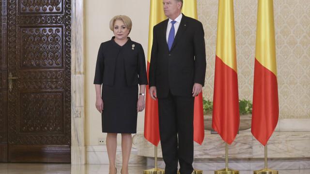 Klaus Iohannis, Viorica Dăncilă