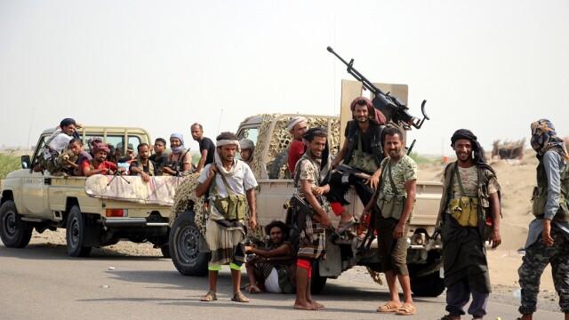 forte guvernamentale din Yemen