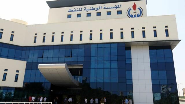 Sediul companiei nationale de petrol Tripoli