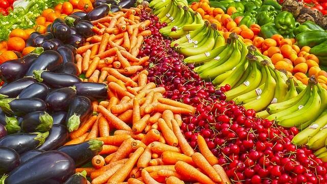 fructe si legume, piata
