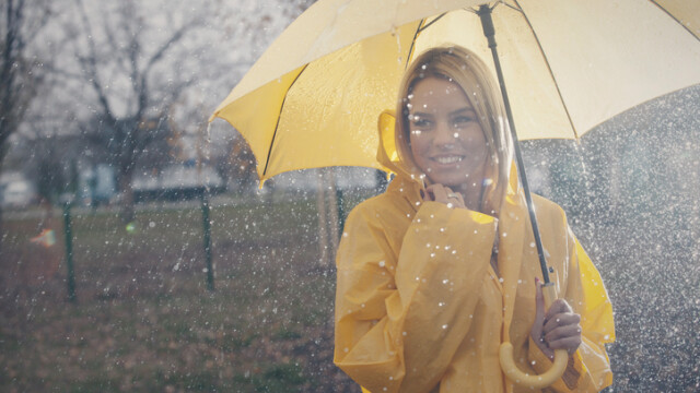 ploaie, toamna