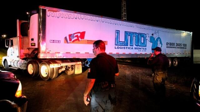 mexic, camioane, cadavre,
