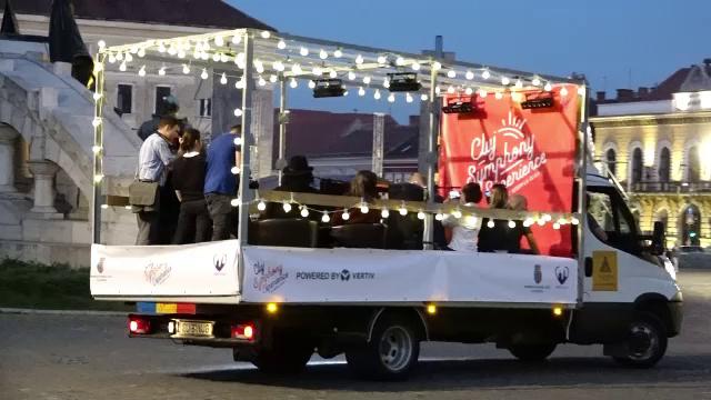 Un camion a pornit într-o cursă neobişnuită prin Cluj-Napoca