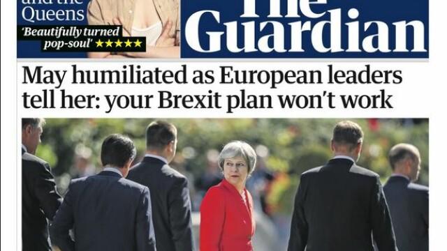 Presa britanică: Theresa May a fost \