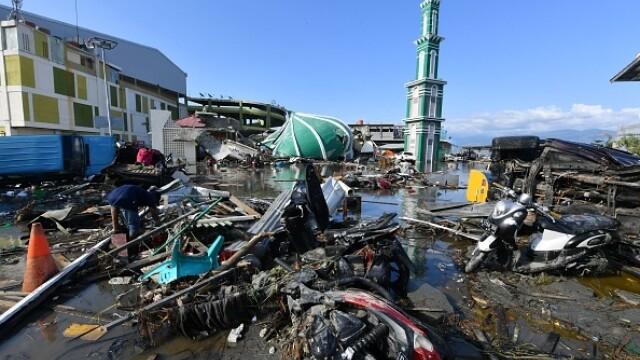 Clipe dramatice în Indonezia. De sub dărâmături se aud plânsete și strigăte de ajutor