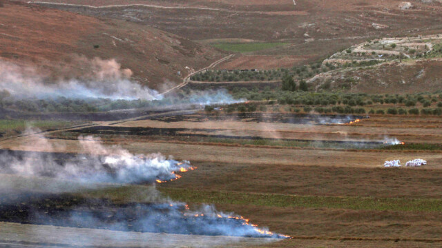 Schimb de tiruri Israel - Liban - 2