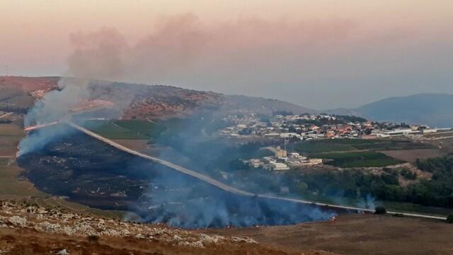 Schimb de tiruri Israel - Liban - 3