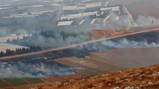 Schimb de tiruri Israel - Liban - 5