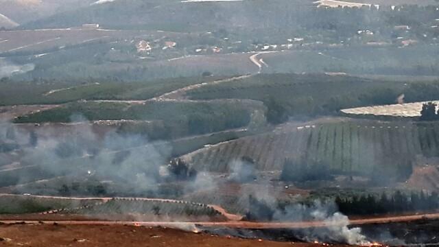 Schimb de tiruri Israel - Liban - 8
