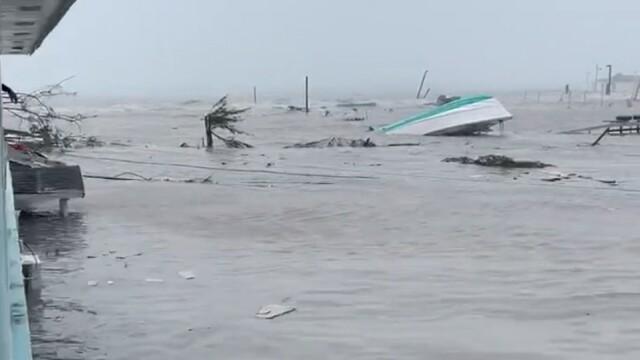 Stare de urgență în SUA. Uraganul Dorian a lovit Bahamas cu rafale de 300 de km/h. GALERIE FOTO - Imaginea 4