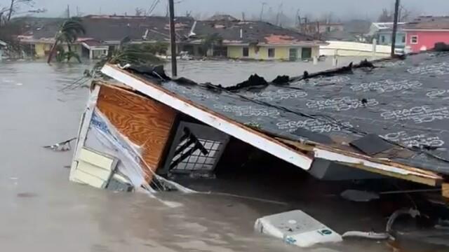 Stare de urgență în SUA. Uraganul Dorian a lovit Bahamas cu rafale de 300 de km/h. GALERIE FOTO - Imaginea 10