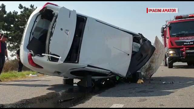 Trei răniți în urma unei manevre imprudente a unui șofer de 60 de ani, în Constanța